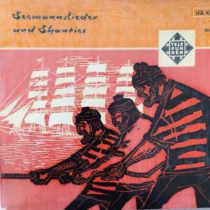 NORMAN CLAUSEN: Seemannslieder und Shanties (EP / Telefunken UX 4771 / Mono)