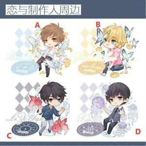 Anime Stand Keychain Mr Love Queen's Choice Lizeyan Strap Keyring Dual-purpose