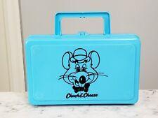 Vintage 1980s Chuck E Cheese Pencil Crayon Case Box ShowBiz Pizza Time