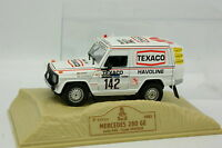 Norev Presse 1/43 - Mercedes 280 GE Paris Dakar 1983