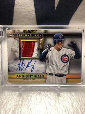 2019 Topps Diamond Icons Autograph Relics Gold Anthony Rizzo #1/1
