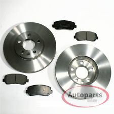 2 discos de freno lleno de Ø 282 mm 5 agujeros balatas atrás