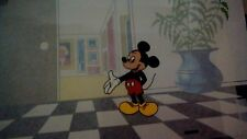 ORIGINAL DISNEY MICKEY MOUSE CLEAR ANIMATION CARTOON PRODUCTION CELL