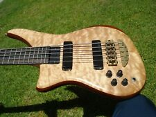 1994 Alembic Epic 5 String Quilted Maple Lefty Left Handed Bass Guitar