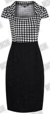 Check Dresses for Women's 1950s
