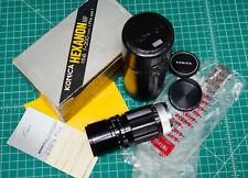 Extremely Rare Konica Hexanon 200mm f/5.6 ARP Preset telephoto lens