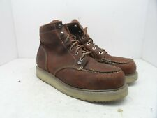 TIMBERLAND PRO Men's BARSTOW WEDGE Soft Toe WORK BOOTS 89647 Brown 11M