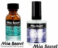 Mia Secret Professional Natural Nail Prep Dehydrate & Xtra Bond Primer