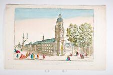 vue d'optique XVIII°,université AUGSBOURG Augsburg, Bavière, Allemagne