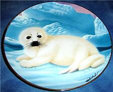 On His Own Wepplo The Franklin Mint Seal Plate