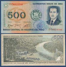 PERU 500 Soles de Oro 22.7.1976  UNC  P.115