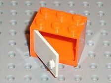Boite LEGO Orange Container Cupboard ref 4532 / Set 7686 7680 7586 4840 ...