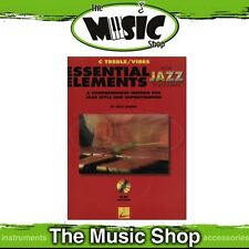 New Essential Elements for Jazz Ensemble: C Treble/Vibes Book & CD