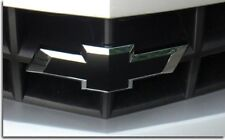 // BLACK Vinyl Sheets Wrap Chevy Universal Bowtie Emblem Overlay Decal