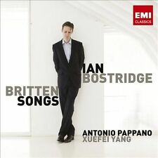 IAN BOSTRIDGE - Britten: Songs (CD, Apr-2013, EMI Classics)-NEW
