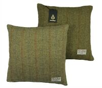 Authentic Harris Tweed Fabric Cushion Cover 100% wool - Various Sizes 16 & 18in.