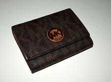 MICHAEL KORS Damen Geldbörse Portemonnaie FULTON SNAP CARP CASE braun 35H5GFTD2L