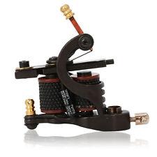 HB-WGD005 Tattoo Machine 8 Wrap Coils Iron Liner Tattoo Equipment Black Color