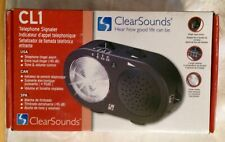 ClearSounds Telephone Signaler, tone, volume controls & strobe flasher
