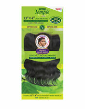 Janet Collection 100% Human Temple 13x4 Lace Frontal Closure BODY WAVE