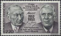 Frankreich 2636 (kompl.Ausg.) postfrisch 1988 Dt.-Franz. Zusammenarbeit