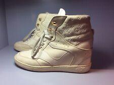 Louis Vuitton beige wedge sneakers size 38