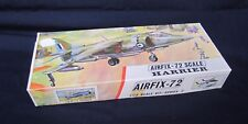 Vintage Model Plane Kit AirFix-72 HARRIER 1-72 Scale Kit Series 2 INTACT England