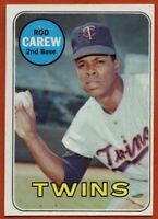 1969 Topps #510 Rod Carew Near Mint+ Pack Fresh Minnesota Twins FREE SHIPPING