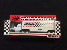 Matchbox Superstar Transporters Snickers Racing Team