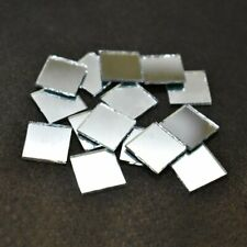 Shisha Mirrors for Embroidery And Craft Purpose,Square Shape, 10*10 Mm, 100 Pcs