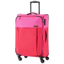 Travelite Neopak 4-rollen Trolley M 67 Cm Rot-pink