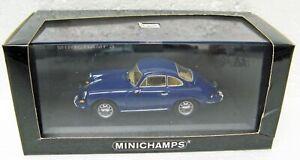 1963 - 1965 Porsche 356 C Coupe blue 1/43 Minichamps 430 062320 MB