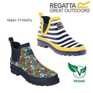 Regatta Lady Harper Womens Ankle Wellington Boots Vegan Friendly Wellies
