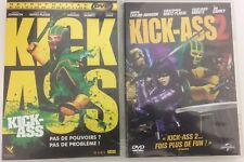 Kick-Ass 1 et 2 dvd