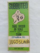 subbuteo HW team FRANCIA - JUGOSLAVIA