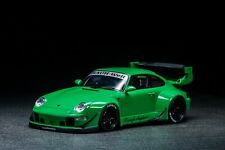 1/18 GT Spirit Porsche 993 RWB in Green