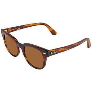 Ray Ban Meteor Classic Brown Classic B-15 Square Sunglasses RB2168 954/33 50
