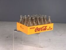 Vintage Coca Cola 24 Mini Bottles And Miniature Plastic  Bakelite / Catlin Crate