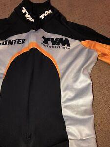 TVM Dutch Speedskating Speedsuit Skinsuit Spandex