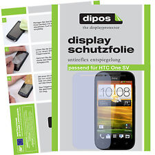 1x HTC One SV screen protector protection guard anti glare