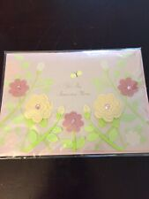 Butterflies 3D Very Pretty Gemstone Glitter - Mothers Day Card - Papyrus  $7.95