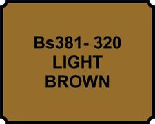 Cellulose Car Body Classic Vintage Paint BS381-320 LIGHT BROWN Gloss