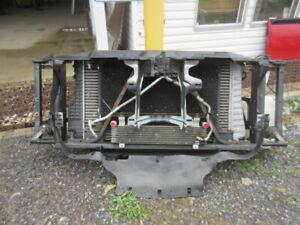 07 08 09 10 Silverado Sierra 2500 3500 Diesel Radiator Core Support Intercooler