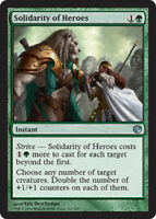 Solidarity of Heroes x4 Magic the Gathering 4x Journey into Nyx mtg card lot