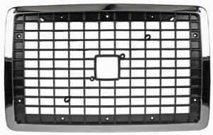 04-18 VOLVO VNL VNM FRONT HEAVY DUTY RADIATOR GRILLE 242-5501A