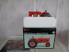 ERTL PRECISION 1/16 ALLIS CHALMERS WD45 DIESEL NARROW FRONT FARM TOY TRACTOR