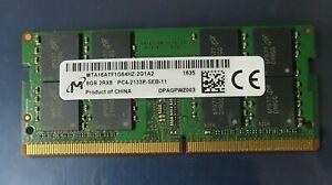 Micron PC4-17000 PC4 2133P 8GB 1X8GB DDR4 2RX8 2133MHz 260pin Laptop Memory