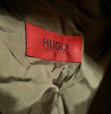 Hugo Boss Aamon/Hago Red Label Suit Black Pinstripe 42R XL Slovenian