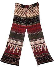 DB Rayon trouser pant Indian falda retro WOMEN retro hippie boho skirt gypsy vtg