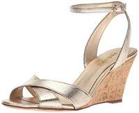 Nine West Womens Kami Metallic Wedge Sandal- Select SZ/Color.